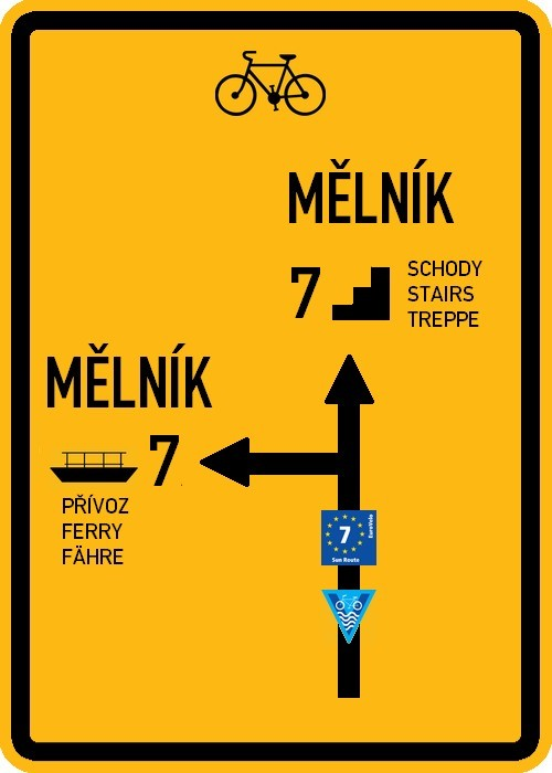 Elbe route ofwel Labská stezka